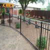 alibaba China cheap wrought iron fence design