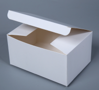 White Card Kraft Paper Box Gift