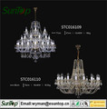 2016 best-selling crystal chandelier with LED bulb