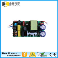 low price power supply 36w 40w 48w 600ma constant current 36-54v 54-80v dc output internal led driver for led light