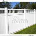 Practical High Technology Professional Closed PVC Privacy Fence