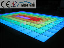 2014 latest slim and easy installation dance floor panel