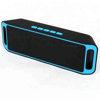 hot selling 2018 amazon SC208 Portable Speaker Wireless Speaker with Dual Driver