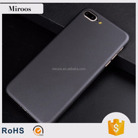 Coated metallic UV oil flash hole case for iphone 7 cell phone accessories by Miroos