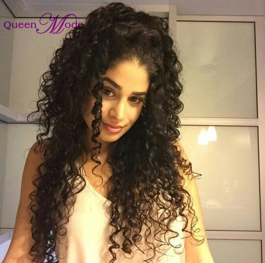Natural Looking 8A Virgin Afro Hair Wigs Grey