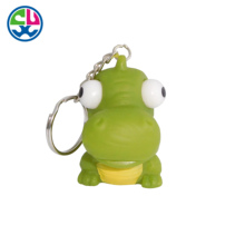 Custom Made Design Soft PVC toy keychain