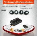 Hifimax TPMS (Tire Pressure Monitoring System)-Compatible with Car DVD player(Universal type)