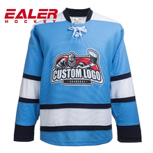 100% polyester Sublimation Custom design ice Hockey uniforms with your own logo