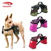 Adjustable Comfortable Traveling Camping Hiking Dog Saddle and Dog Backpack Harness
