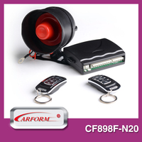 China factory high quality auto alarm security system with remote trunk release