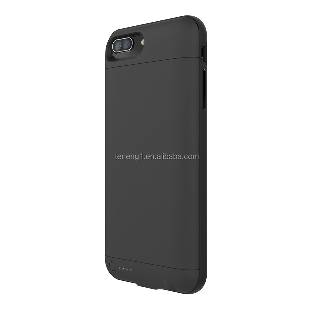 2017 Hot selling phone backup battery case for iphone 7 and 7 Plus battery charger case ultra slim power case