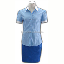 WRAP Approved Factories New Designs Office Uniform for Ladies Blouses