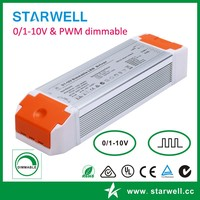 PE60AA42 25-42V DC 1450ma 60W Dimmable driver for spotlight light 0-10V led power supply