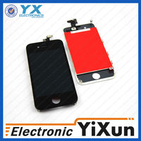 original for apple iphone 4 lcd touch screen digitizer, for iphone 4g lcd assembly with back cover and home button