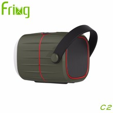 New Portable Bluetooth Speaker Outdoor Sports Hiking Camping LED Lantern Lamp Light Speakers