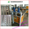 Square shape Mild steel pipes punching machine for window making / Steel pipes punch machine
