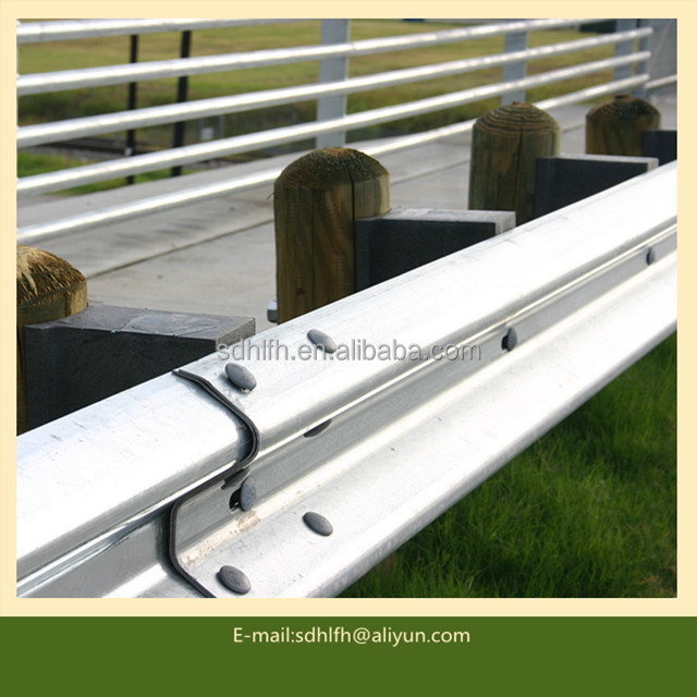 Galvanized W Beam Highway Guard rail /Crash Barrier