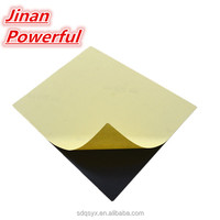100% virgin pvc sheets black for photo book , self adhesive pvc flexible sheet