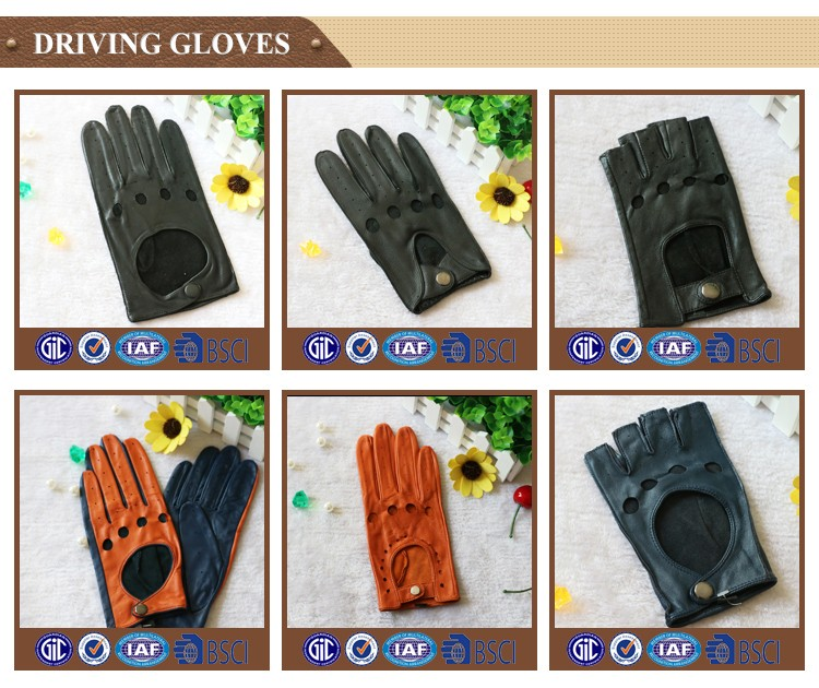 New design fashion suede gloves in europe with great price