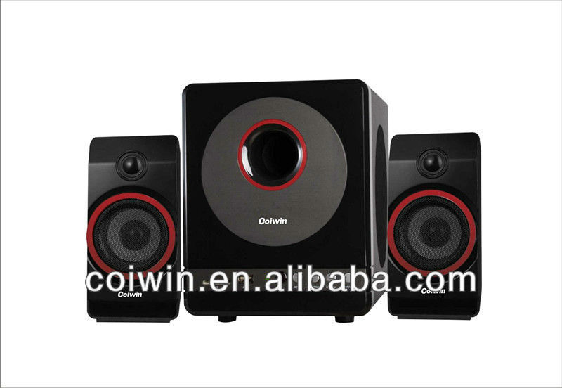 GOOD SALE!!!2.1 home theater system&2.1 speaker for computer& multimedia subwoofer speaker