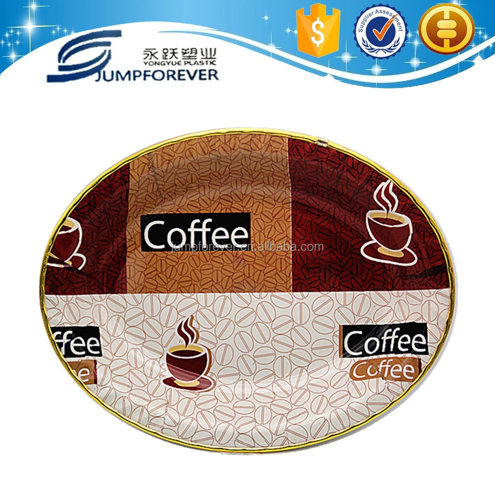 China wholesale unbreakable coffee plastic food tray