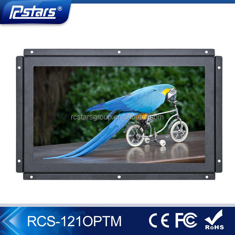 resolution 1280*800 touch screen 12 inch open frame lcd monitor 12 volt