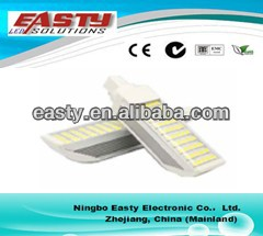 hot sale 9w led pl light, High Bright 9W G23G24E27B22 LED PL Lamp