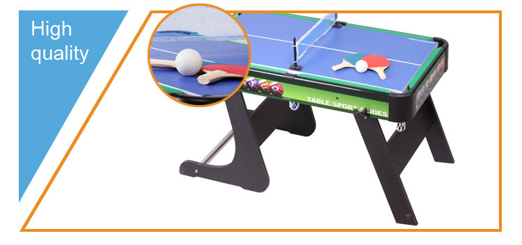 2 in 1 Foldable table tenis game and snooker pool table