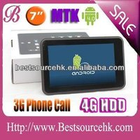 MTK 6575 cortex 9 smartphone android tablet pc with sim card android 4.0 7 inch capacitive factory price