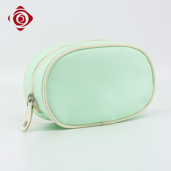 Wholesale beauty PU makeup pouch custom private label korean cosmetic bag