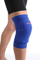 custom sports leg sleeve with honeycomb knee pads