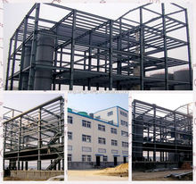 Prefabricated light steel supporting structure hangar perfume warehouse