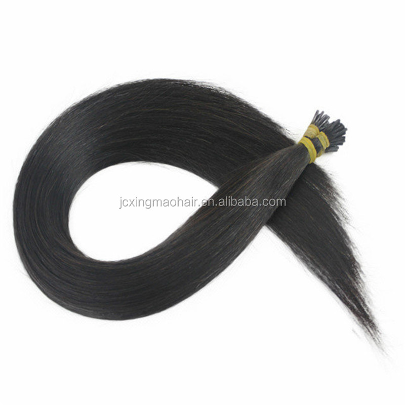 Top Quality peruvian keratin stick I/U/V/Flat Tip Hair Extension,Wholesale 100% Unprocessed peruvian Hair Weave
