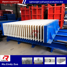 3d eps panel production line solar panel production line/Lightweight concrete wall panel forming machine