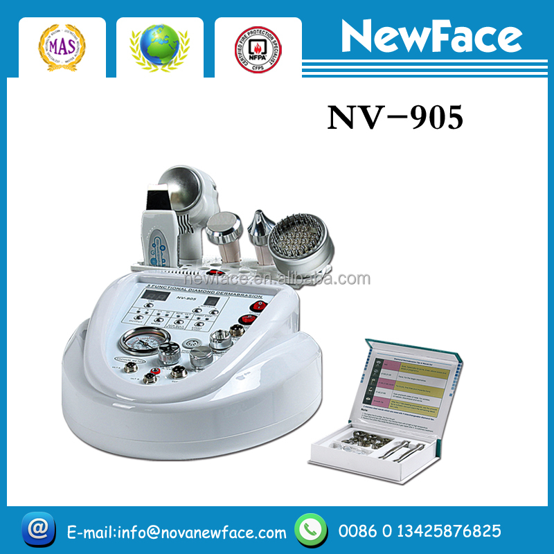 2016 NV-905 facial exfoliator microdermabrasion device