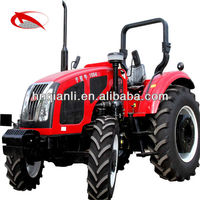 100hp agricultural equipment tractor hot sale large wheeled tractor
