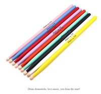 Factory Direct Natural Style Drumsticks Custom High Quality Reasonable Price Wholesale Colorful Drumsticks