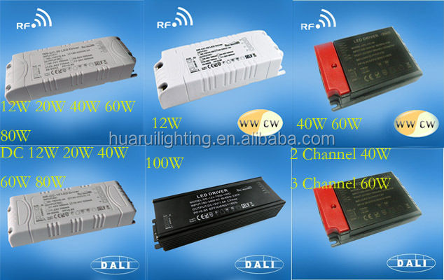 100w 2800mA 35v dc to 110&230v ac Single output constant current Downlight DALI LED panel lighting driver