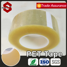 Professional Clear Electrical Heat Resistance PET Tape With Free Sample