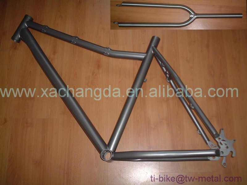 cheap bicycle suit titanium MTB bike frame 29er mtb bike frame in titanium made in china XACD titanium mtb bike frame