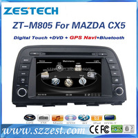 ZESTECH elite professional radio for mazda cx-5 multimedia system with gps ZT-M805