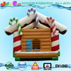 candy inflatable moonwalk, children bouncy castle candy house