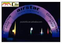 CILE newly customized Inflatable colorful LED light arch