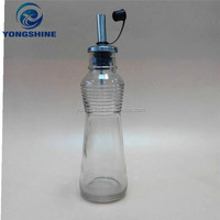 150ml clear glass cooking oil storage bottle size