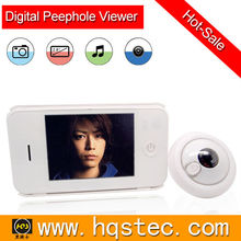 Video peephole door camera with lcd screen with easy using