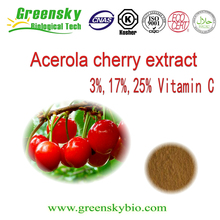 High Quality Natural Acerola cherry extract /Acerola cherry extract