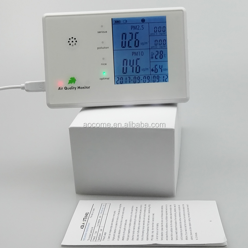 Factory wholesale smart desktop air quality monitor HCHO Control