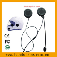 motorbikes helmet headset with plastic speaker cover and microphone tube