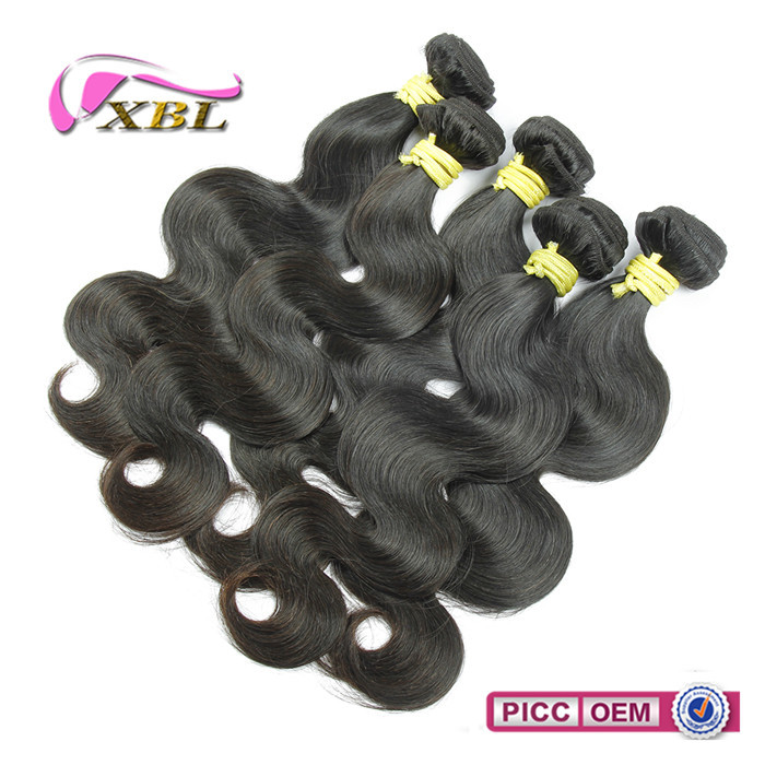 XBL fashional texture big price top quality body wave human hair