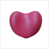 High quality waterproof bath heart shape pillow